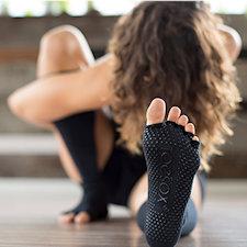 Los calcetines de yoga
