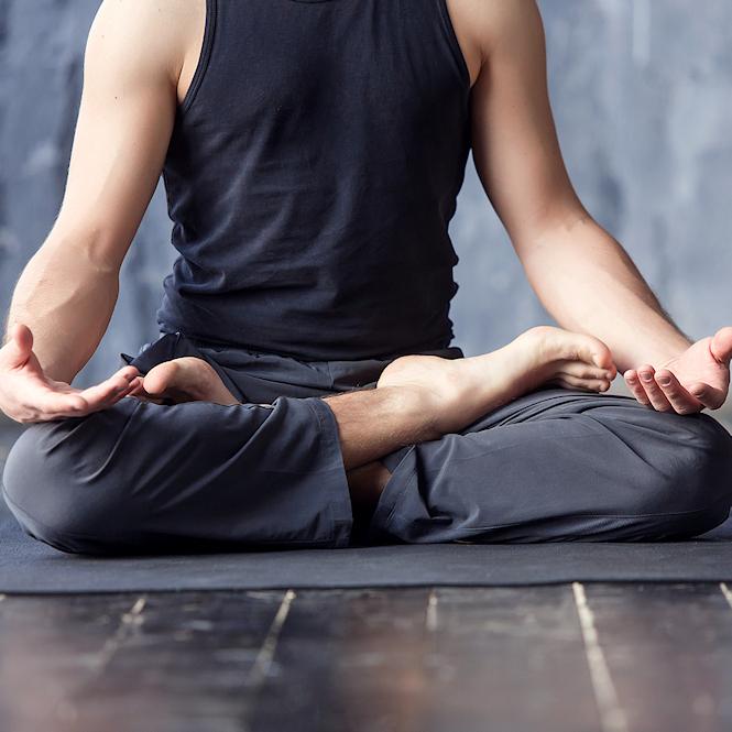 Tops de yoga Hombres